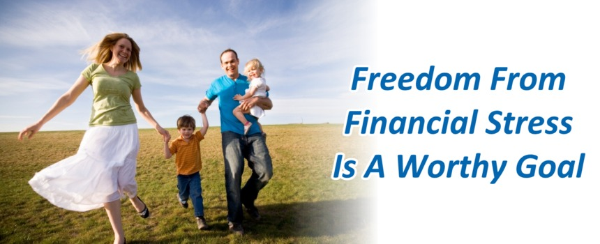 freedom from financial stress